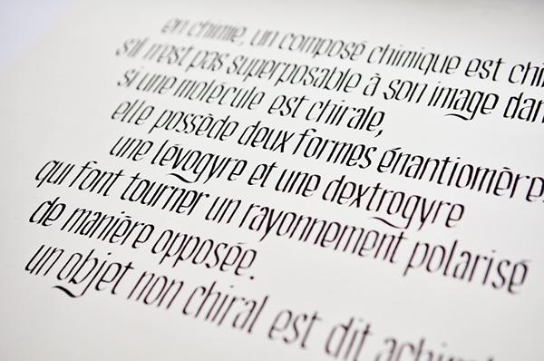 calligraphie écriture ink