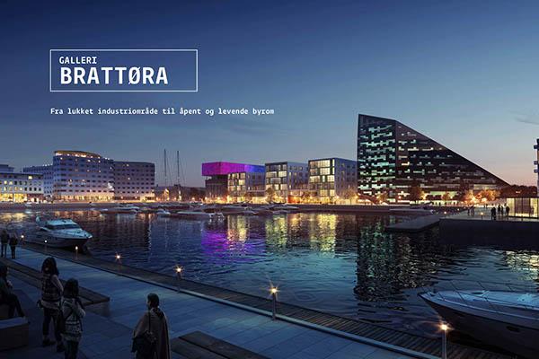 The Brattøra gallery  Bennett Klaus Nystad MIR trondheim Sunniva Evjen