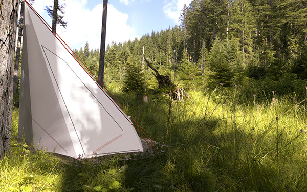 camping tent ecological