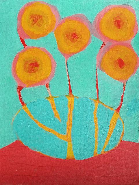 party fiesta Flowers vases bold colorful contemporary jasmin paluma Lady Savannah tia lucia juliette nelson sam sobremesa