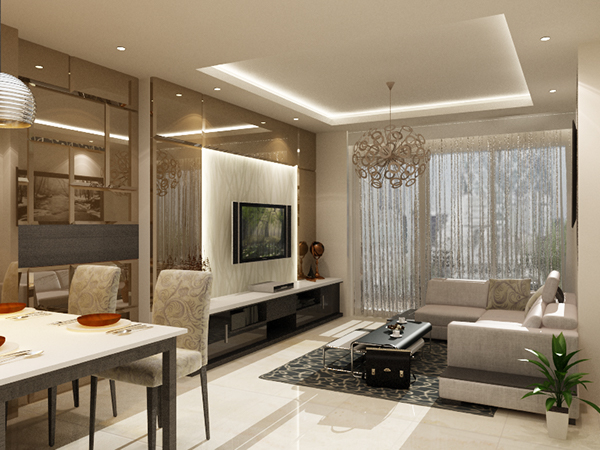 Residential jakarta indonesia on behance for Interior architecture jakarta
