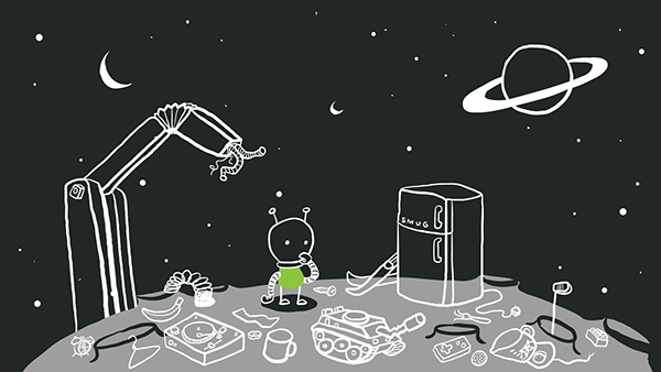 alien,odyssey,spaceship,planet,Sci Fi,ux,service experience,Intuit,service experience conference,#sxconf14,presentation,slideshow,story