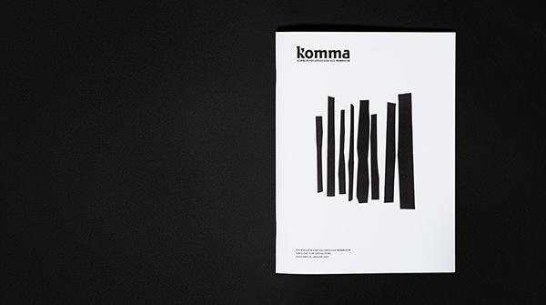 Komma,HS,mannheim,editorial,poster,design,gold,fünfzehn,magazine,newspaper,Stefan Marx,tissue,uwe-jens bermeitinger,captcha