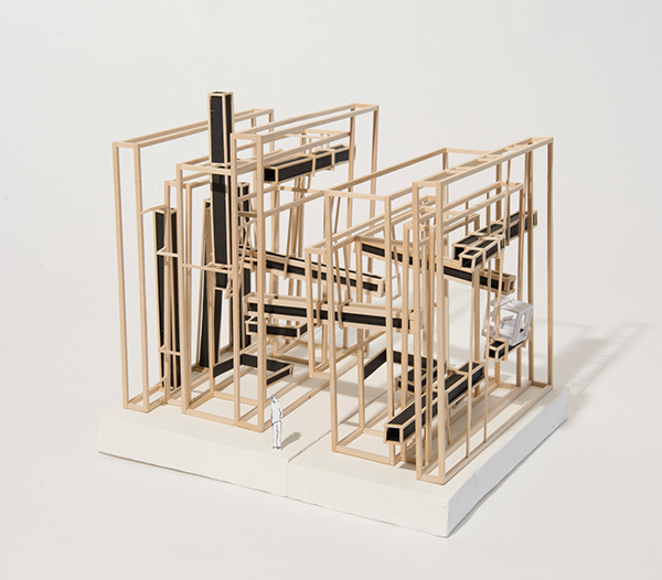 Stickframe model of the concept enigmatic on behance for The concept of space in mamluk architecture