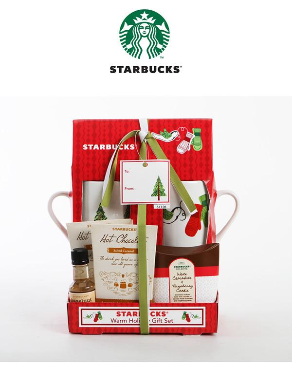 Starbucks holiday gift set packaging design on behance