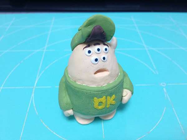 Fimo Work Monsters University Squishy On Behance