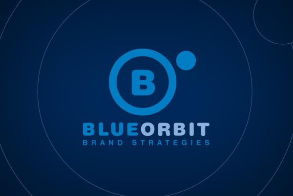 blue orbit Logo Design Identity Design Website Design wordpress
