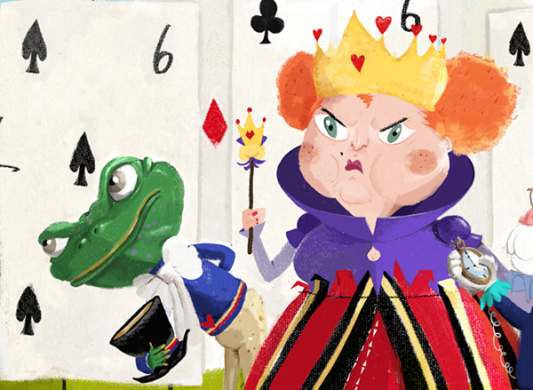 Character Design Environment : Alice in wonderland children s book on wacom gallery