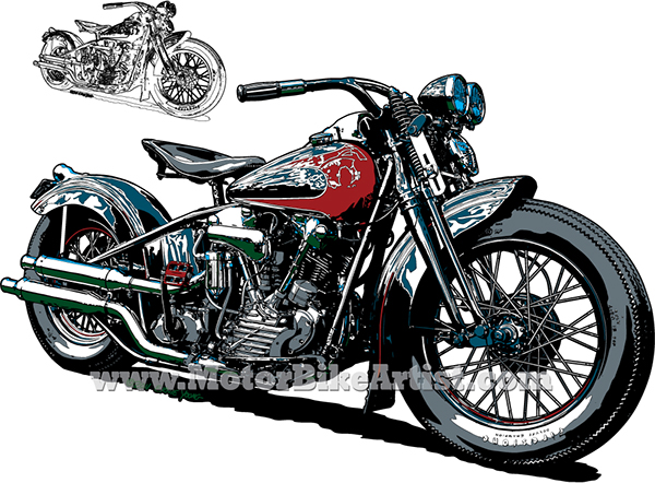 how to draw a harley davidson motorcycle pdf