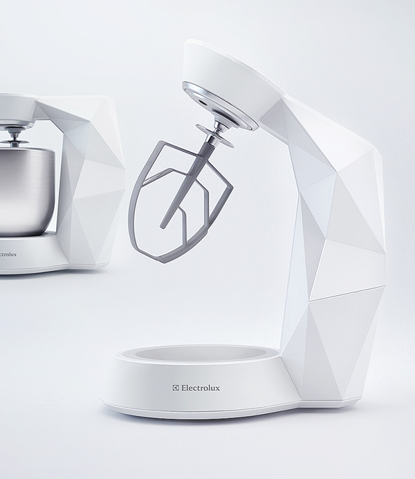 Modern Exhibition Stand Mixer : Electrolux stand mixer on behance