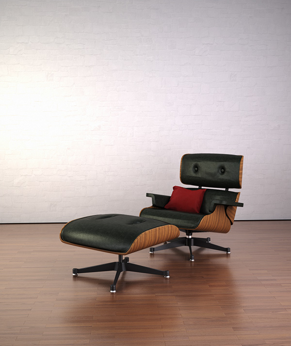 Charles And Eames Lounge Chair charles eames lounge chair on behance