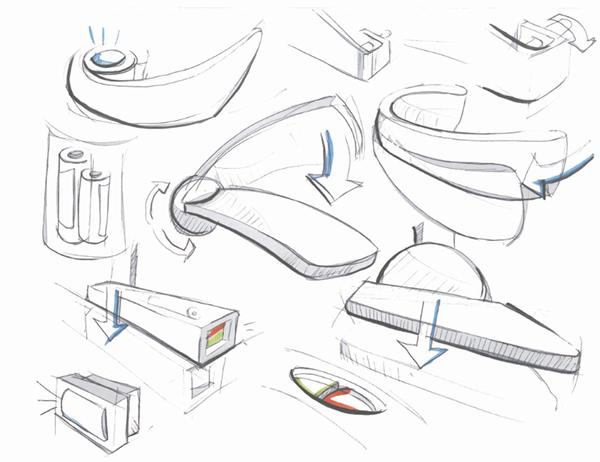 Door handle concepts on behance for Door design ergonomics