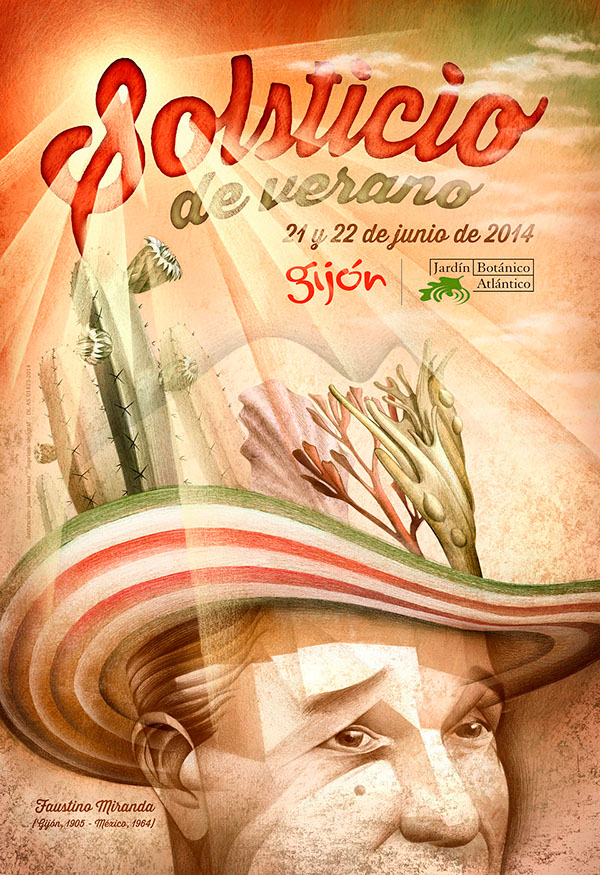 Summer Mexican Solstice Party (Faustino Miranda) by Juan Hernaz