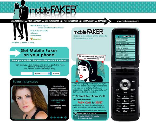 Mobile Faker® Mobile App on Behance