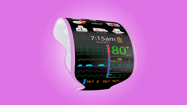 Design Product Modern Technology High-Tech Future Pregnant Pregnancy Color Concept Prototype Project