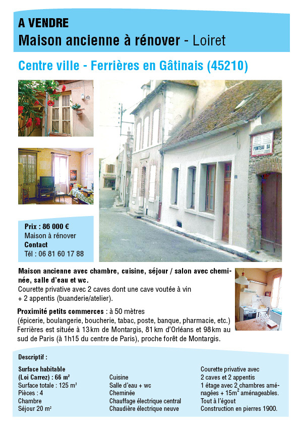 immobilier Annonce