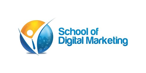 School of Digital Marketing Logo on Wacom Gallery