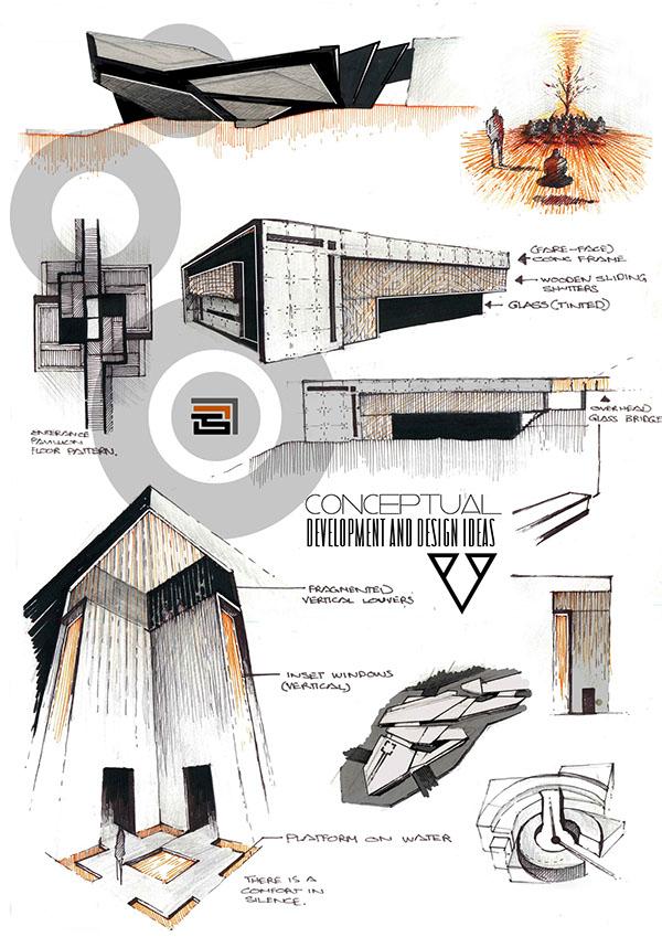 Professional architecture portfolio on behance for Architecture portfolio tips