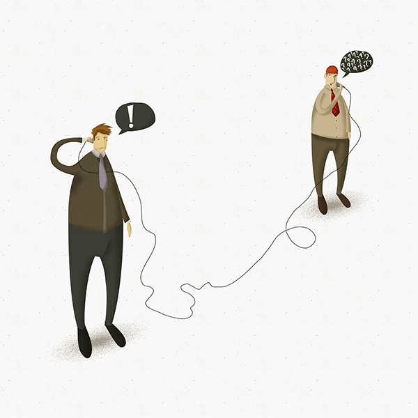 Character Design Job London : National telephonist s day on behance