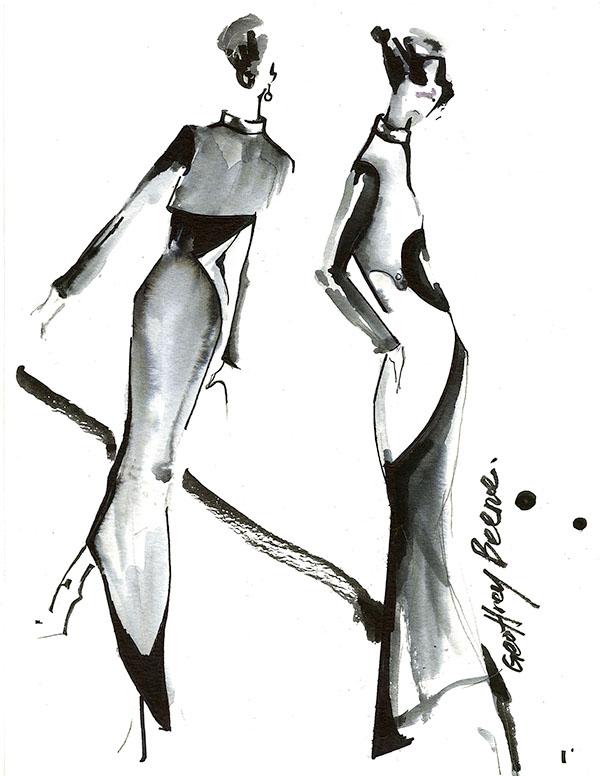 Cfda geoffrey beene 2013 yoyo han on scad portfolios Fashion designer geoffrey