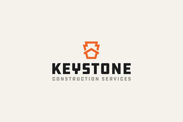 Keystone Construction Branding