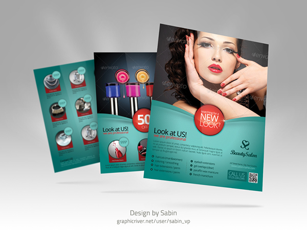 product promotion flyer template multipurpose on behance