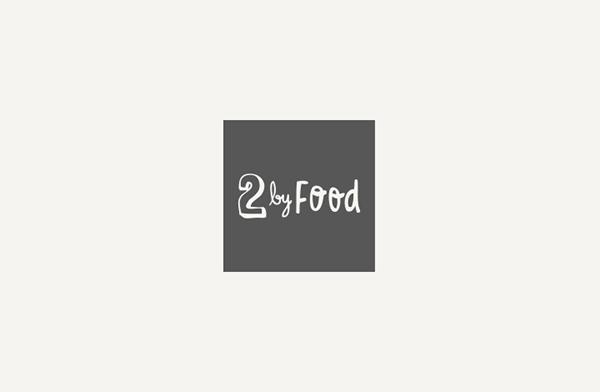 2 by food,Blog,comida,gastronomia,visual identity,identidade visual