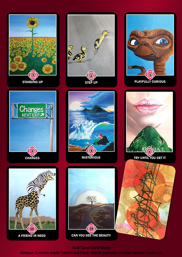 Custom Tarot Cards On Behance