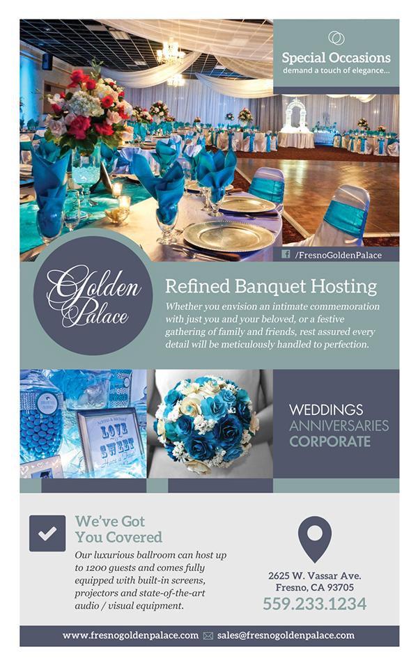 golden palace banquet hall on behance