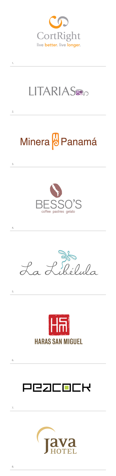 Italian Coffee Shop Logos Italian Coffee Shop