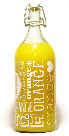 how to make beer look like orange juice