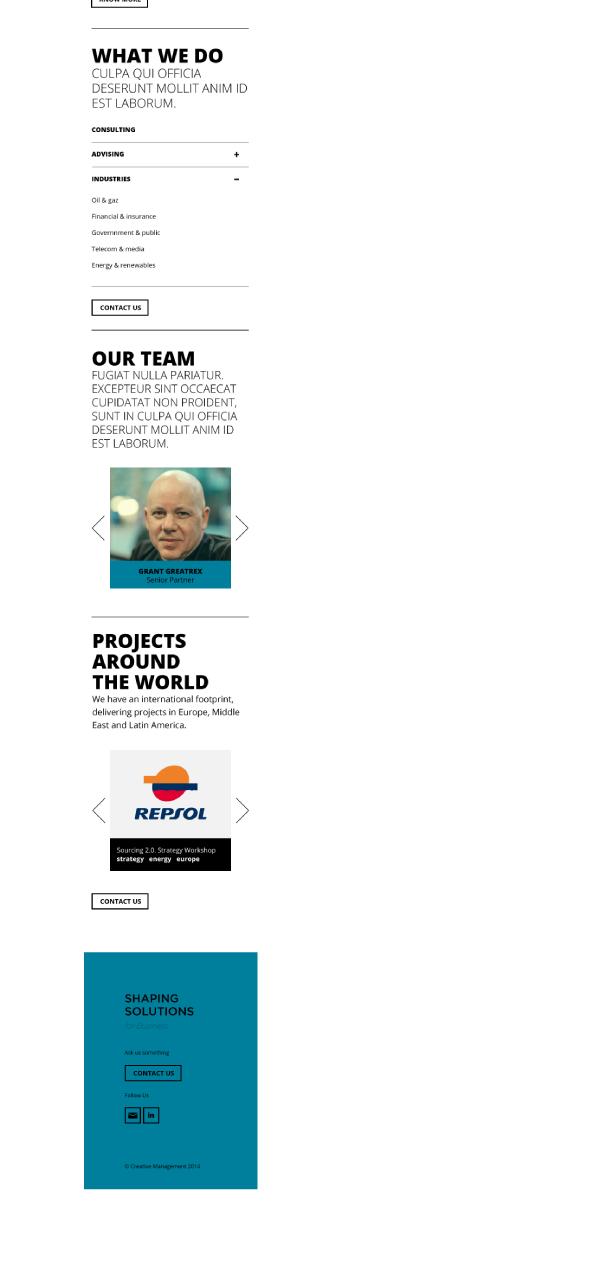 ux Webdesign interface design frontend development HTML css bootstrap