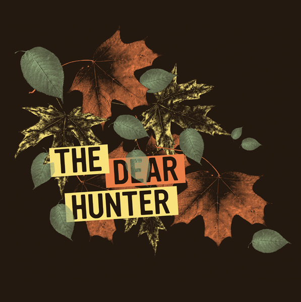 the dear hunter leaves shirt on behance. Black Bedroom Furniture Sets. Home Design Ideas