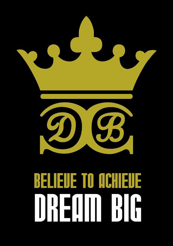 Dream BIG motivational inspirational t-shirt dreams life ambition aspiration