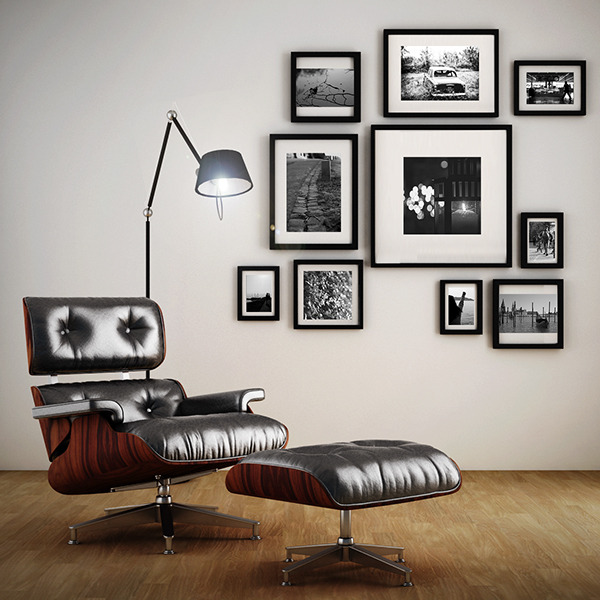 Eames James lounge chair on Behance