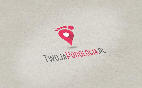 logo podology business card podologia kosmetyka stopy stopa pedicure