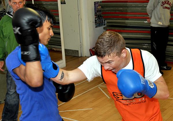 Amateur Boxing Gym 100
