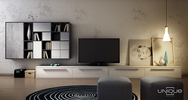 old wall old wall 3d render living room living room ladder furniture Interior design