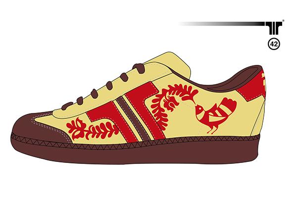 Hungarian Folk-Tale style Tisza Cipő - shoe concept on Behance 9fe964916b