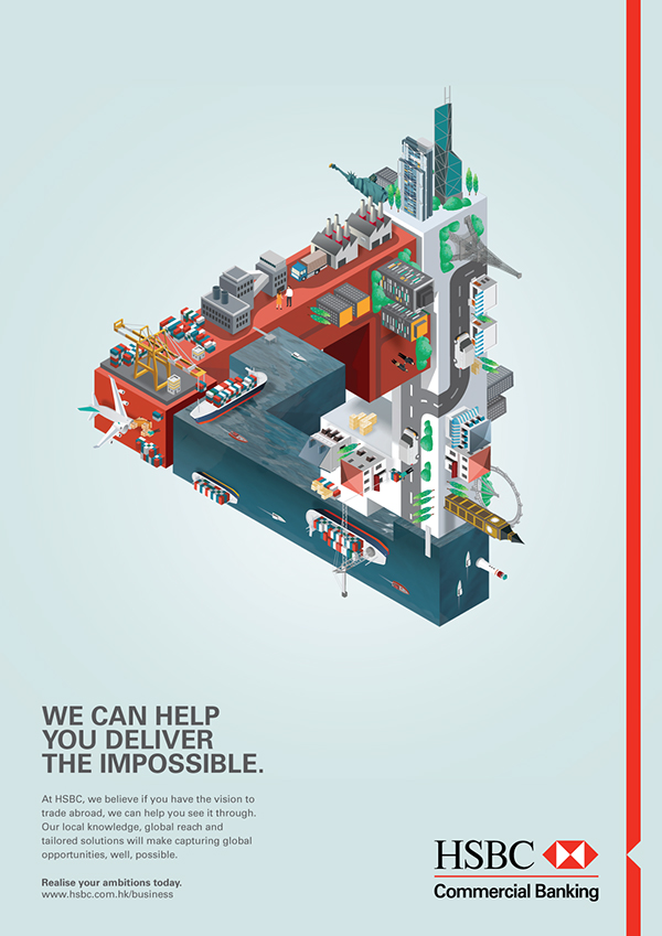 HSBC - Global Trade Solutions on Behance