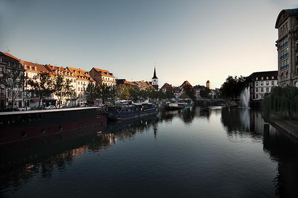 strasbourg quais water city