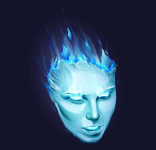 Frost Mask - Step by step - Illustrator CC by Paul DOUARD