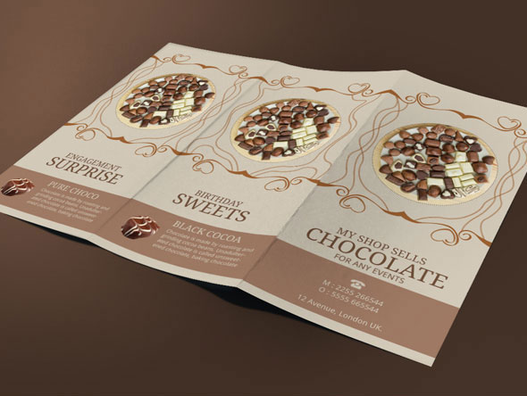 swiss chocolate brochure