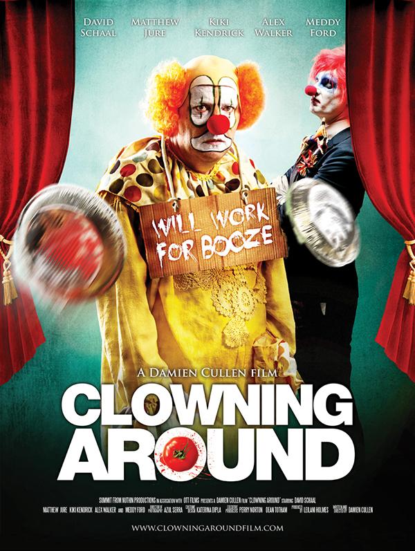 Clowning around movie poster on behance