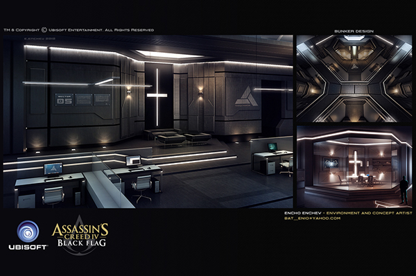 Assassins Creed Black Flag Character Concept Art