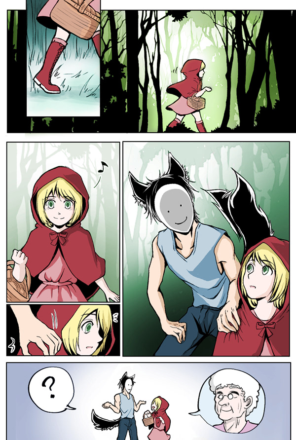 The Truth Of Little Red Riding Hood On Scad Portfolios