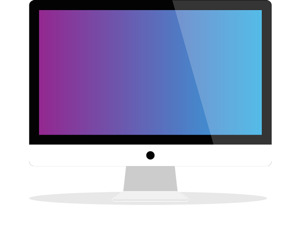 Flat imac macbook ipad iphone vector mock up set on Free vector program mac