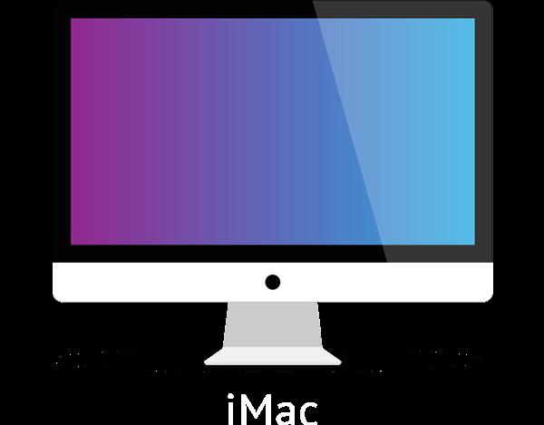 flat imac macbook ipad iphone vector mock up set on behance rh behance net imac vector flat imac vector flat