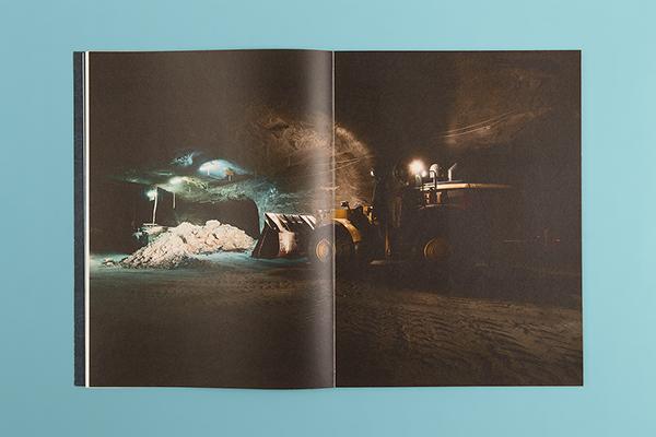 magazine vector Low Poly lowpoly 3D weather interview portrait Landscape Zine