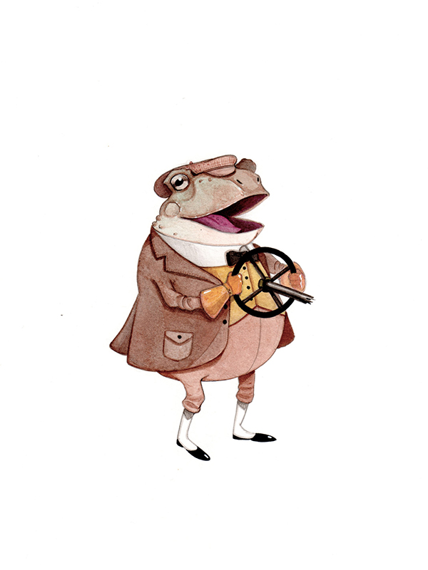 Behance Character Design Served : Character designs the wind in willows on